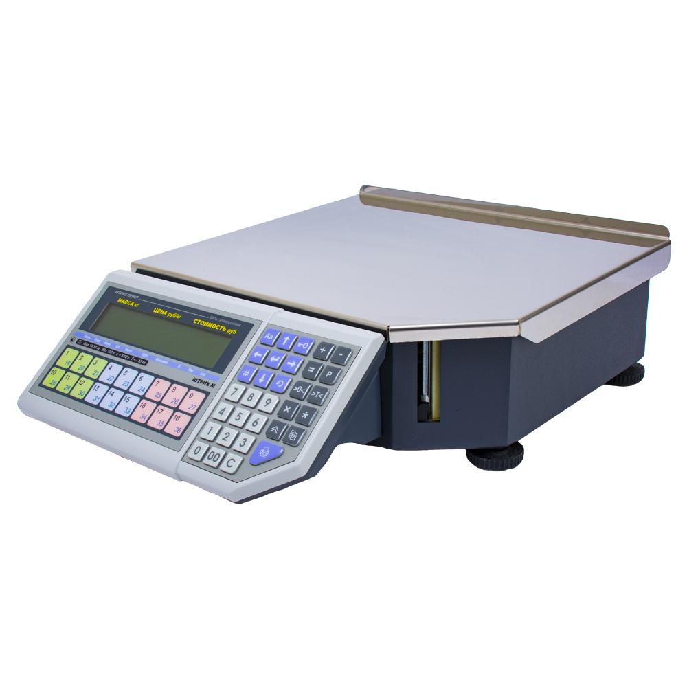 Весы с печатью этикеток ШТРИХ-ПРИНТ ФI 15-2.5 Д2И1 (v.4.5) (2Мб)